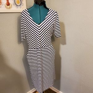 J. McLaughlin Striped Dress